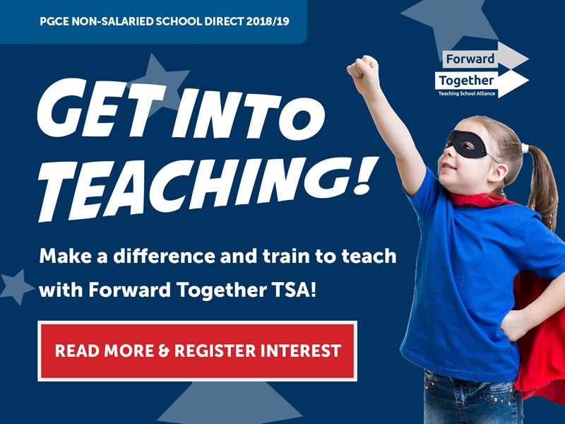 Forward Together TSA School Direct 2018/19 Programme
